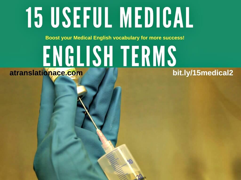 15 Medical English Terms
