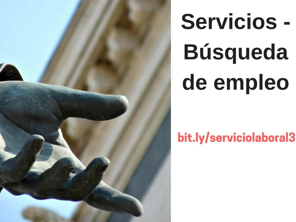 Búsqueda Empleo Servicio Laboral