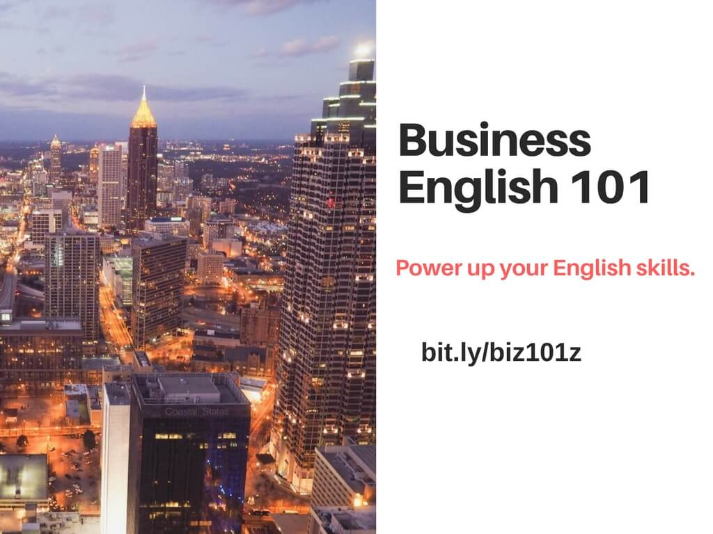 Business English 101 cover