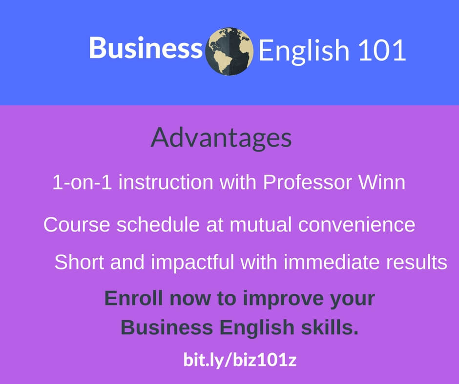 Business English 101