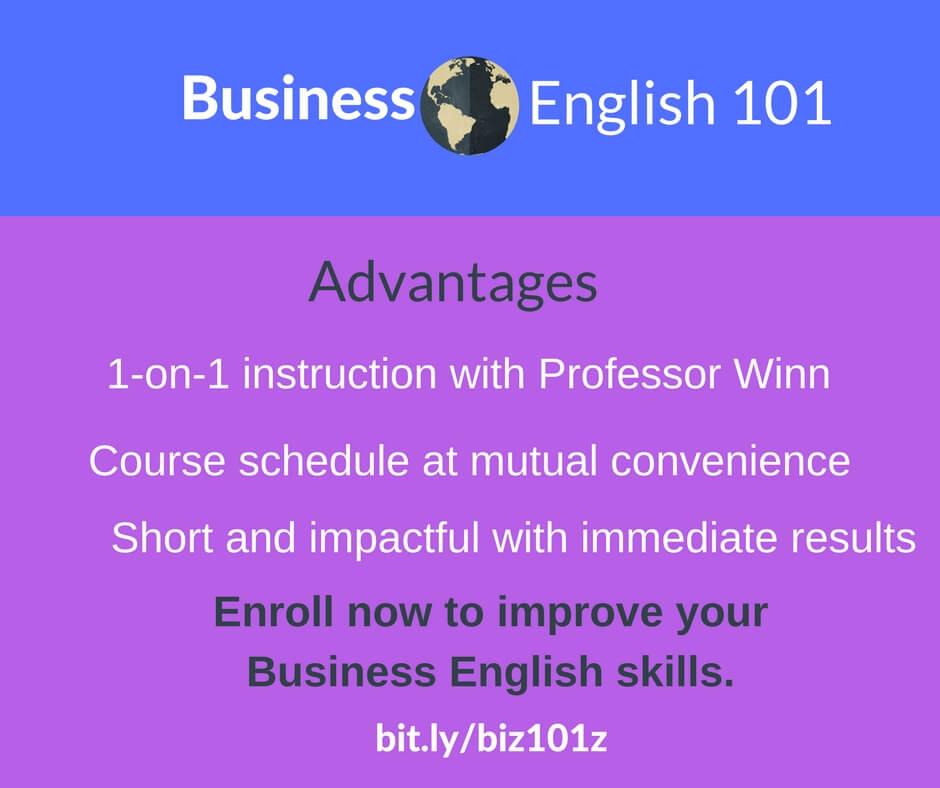 Business English 101