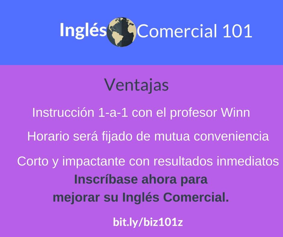 Inglés de negocios - Ficha