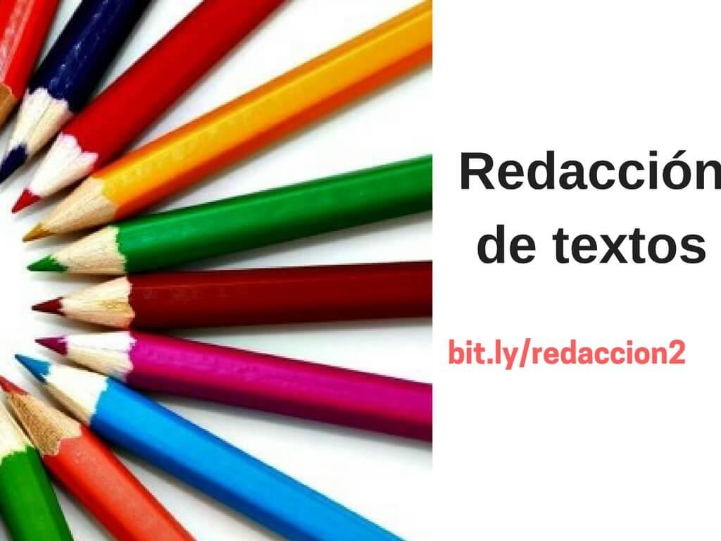 Redacción de textos en inglés