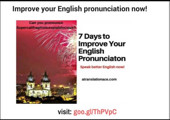 us english pronunciation i