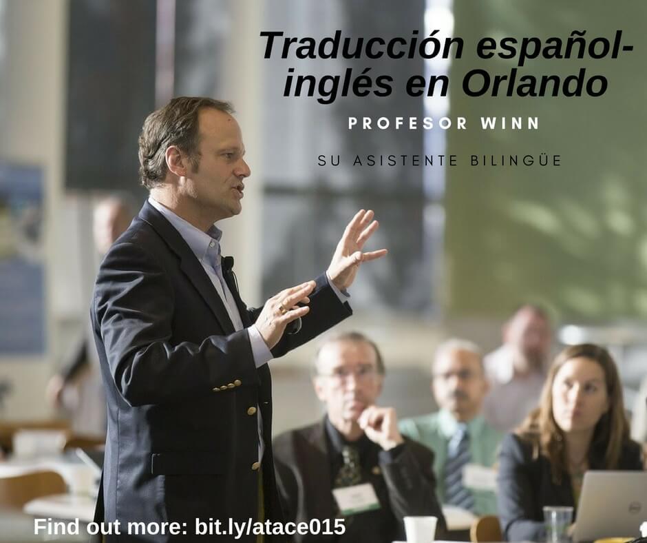 asistente bilingüe orlando traducción