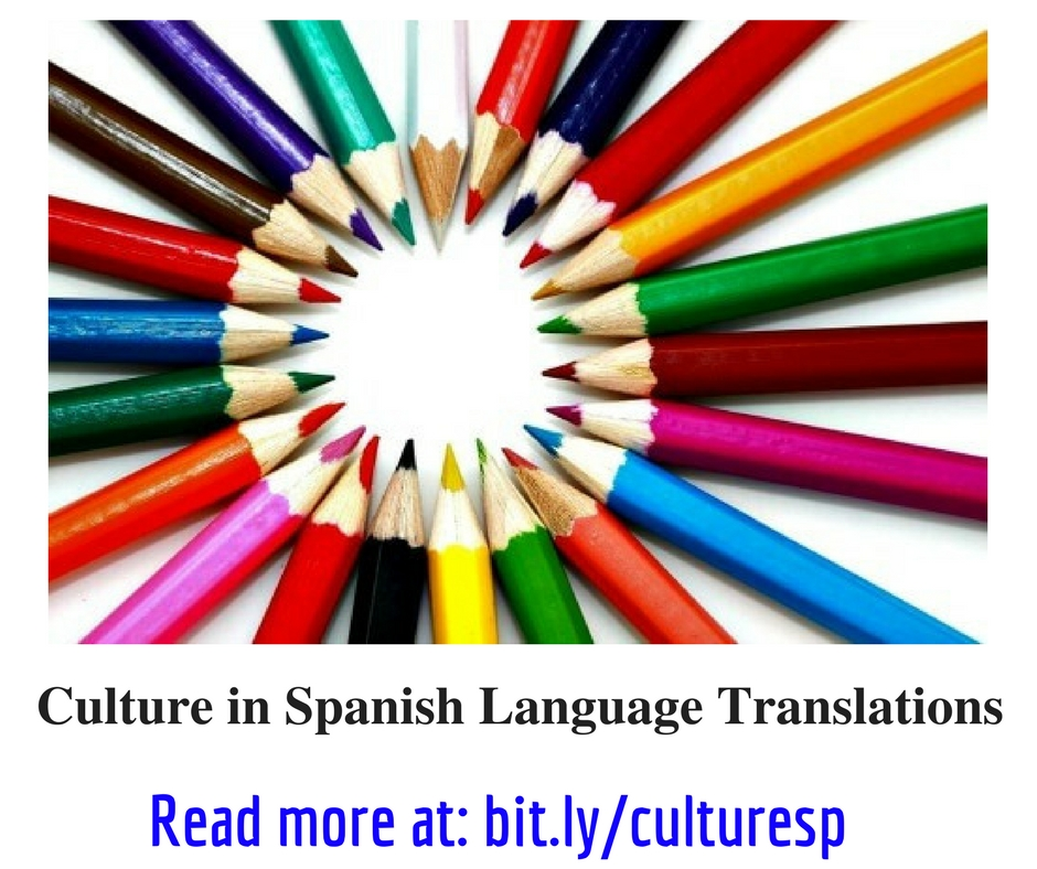 Culture and Spanish Language Translations