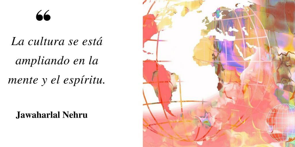 La cultura se está ampliando en la mente y el espíritu