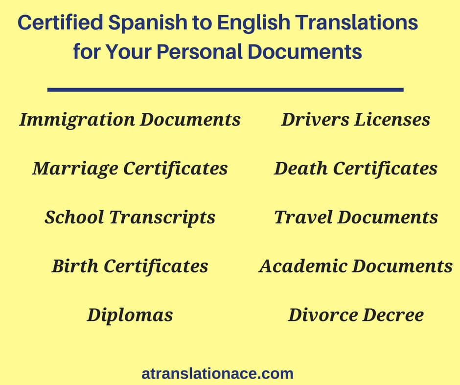 certified spanish to english translations in pensacola
