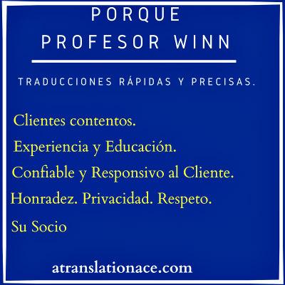 Su traductor profesional de documentos para hoteles.