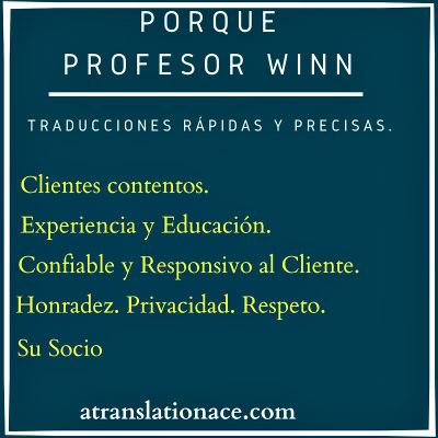 Su traductor jurídico confiable.