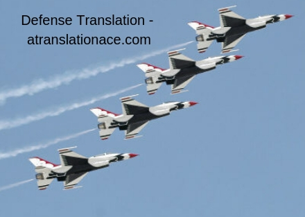 Defense Translation-atranslationace.com