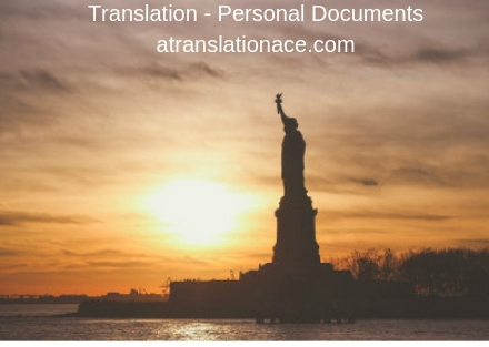 Translation - Personal Documents - atranslationace.com