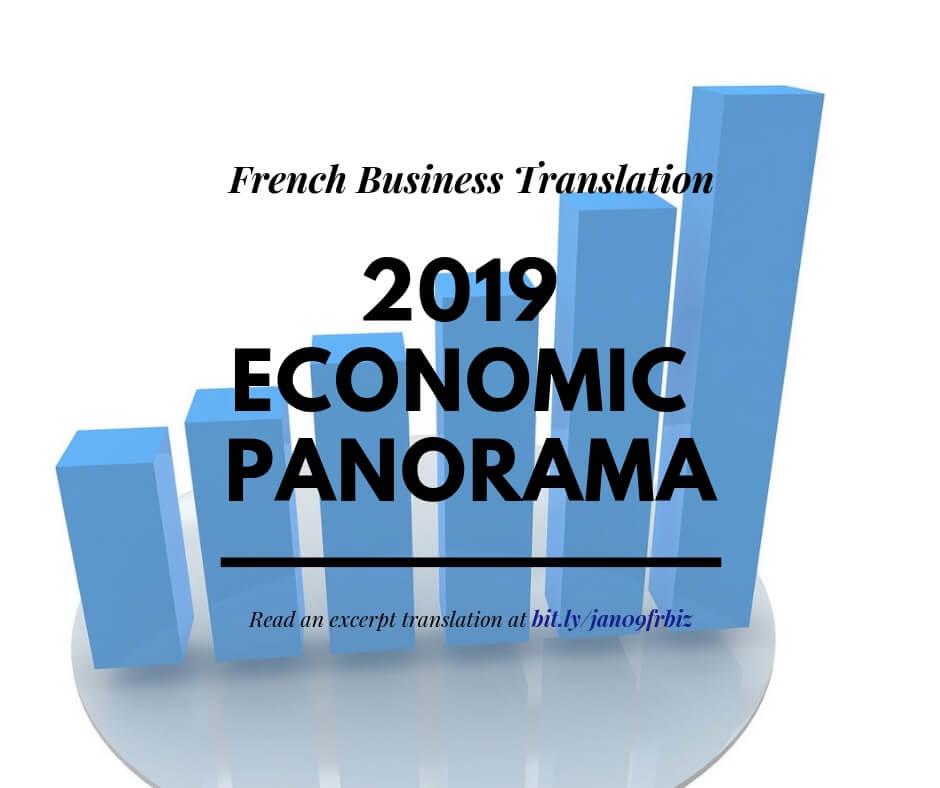 2019 Economic Panorama-French Business Translation
