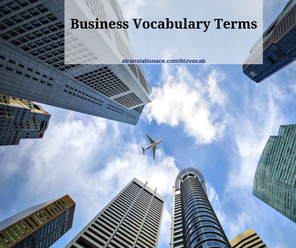 Business Vocabulary Terms