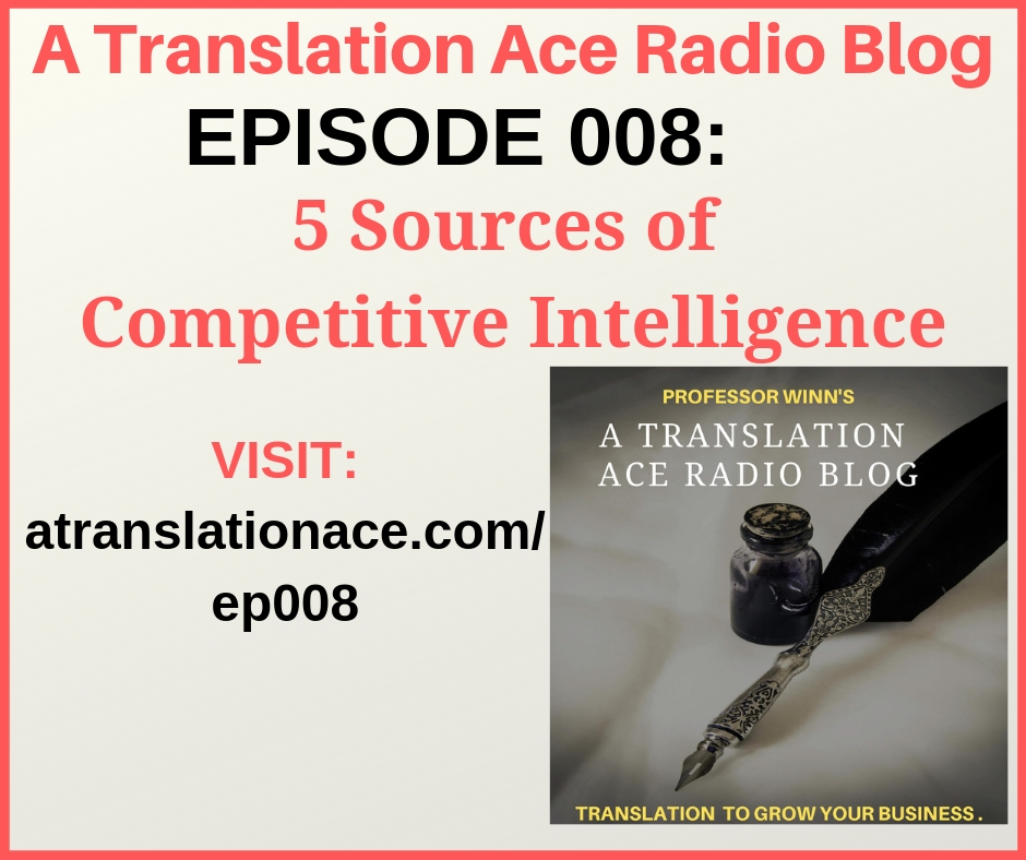 Combine translation and competitive intelligence for your business.