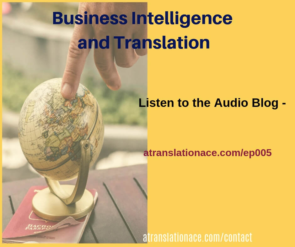 Episode 5 - Business Intelligence and Translation